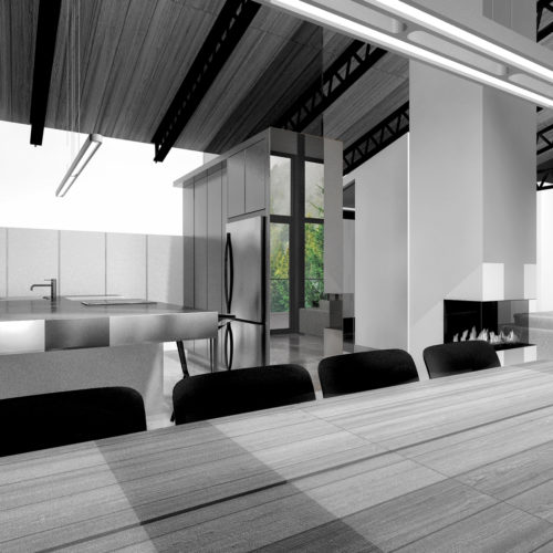 design de cuisine, CONDOMINIUM VILLERAY: Design intérieur + Design de cuisine | Montréal, C3 STUDIO