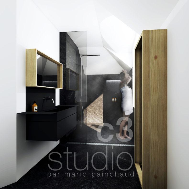Design Intérieur / SALLE DE BAIN_en Cours